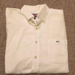 Men's L Vineyard Vines button down tucker shirt.